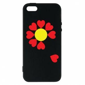 Etui na iPhone 5/5S/SE Kwiat serc