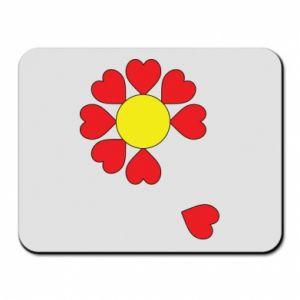 Podkładka pod mysz Kwiat serc