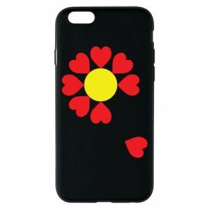 Etui na iPhone 6/6S Kwiat serc