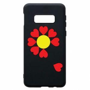Etui na Samsung S10e Kwiat serc