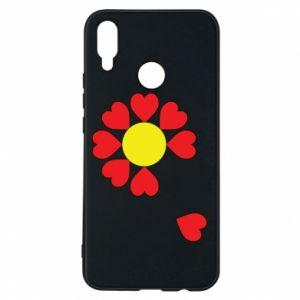 Etui na Huawei P Smart Plus Kwiat serc