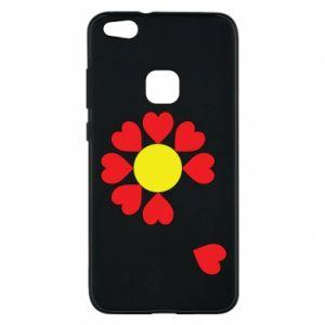Etui na Huawei P10 Lite Kwiat serc