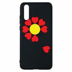 Etui na Huawei P20 Kwiat serc