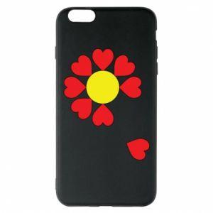 Etui na iPhone 6 Plus/6S Plus Kwiat serc