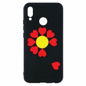 Etui na Huawei P20 Lite Kwiat serc