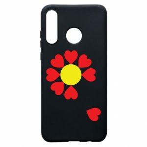 Etui na Huawei P30 Lite Kwiat serc