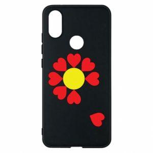 Etui na Xiaomi Mi A2 Kwiat serc