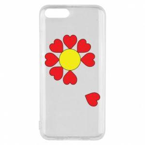 Etui na Xiaomi Mi6 Kwiat serc
