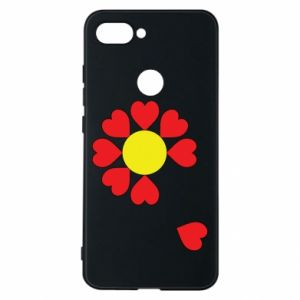 Etui na Xiaomi Mi8 Lite Kwiat serc