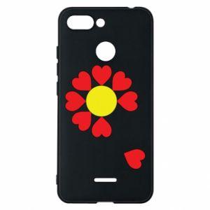 Etui na Xiaomi Redmi 6 Kwiat serc