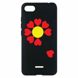 Etui na Xiaomi Redmi 6A Kwiat serc