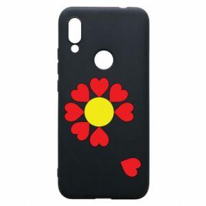 Etui na Xiaomi Redmi 7 Kwiat serc