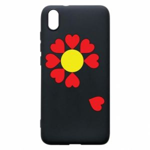 Etui na Xiaomi Redmi 7A Kwiat serc