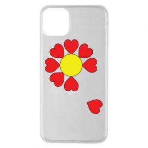 Etui na iPhone 11 Pro Max Kwiat serc