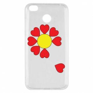 Etui na Xiaomi Redmi 4X Kwiat serc