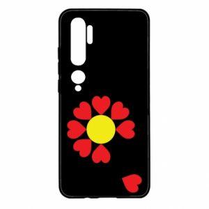 Etui na Xiaomi Mi Note 10 Kwiat serc
