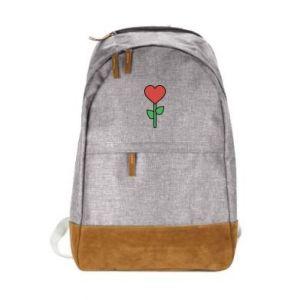Urban backpack Flower - heart