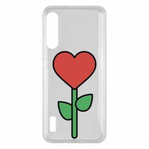 Etui na Xiaomi Mi A3 Kwiat - serca