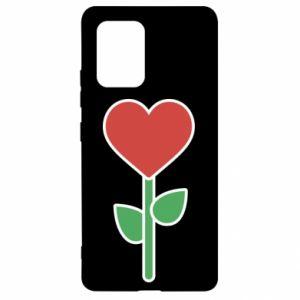 Etui na Samsung S10 Lite Kwiat - serca