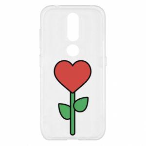 Etui na Nokia 4.2 Kwiat - serca