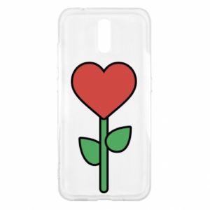 Etui na Nokia 2.3 Kwiat - serca