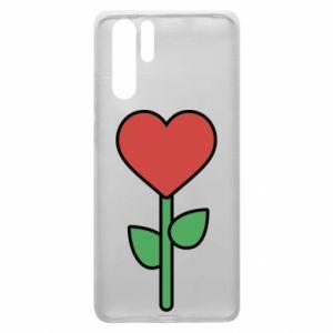 Etui na Huawei P30 Pro Kwiat - serca