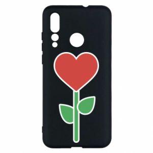 Etui na Huawei Nova 4 Kwiat - serca