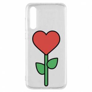 Etui na Huawei P20 Pro Kwiat - serca