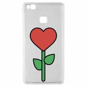 Etui na Huawei P9 Lite Kwiat - serca