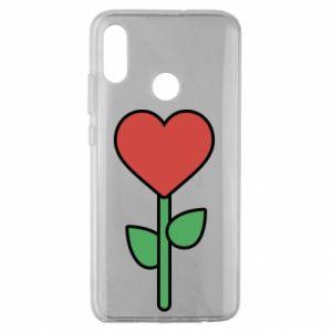 Etui na Huawei Honor 10 Lite Kwiat - serca