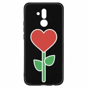 Etui na Huawei Mate 20 Lite Kwiat - serca