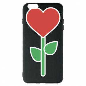 Etui na iPhone 6 Plus/6S Plus Kwiat - serca