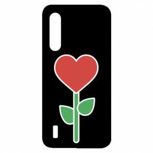 Etui na Xiaomi Mi9 Lite Kwiat - serca