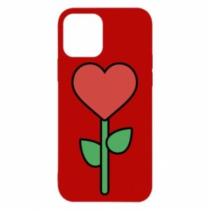 Etui na iPhone 12/12 Pro Kwiat - serca