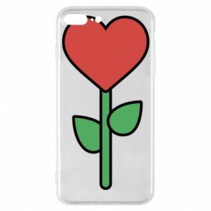 Etui na iPhone 7 Plus Kwiat - serca