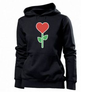 Damska bluza Kwiat - serca