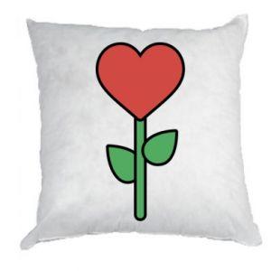 Poduszka Kwiat - serca
