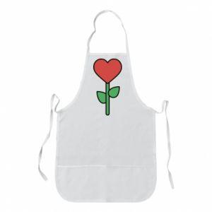 Fartuch Kwiat - serca