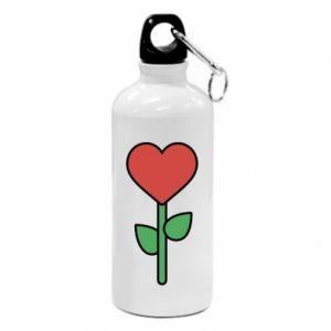 Bidon turystyczny Kwiat - serca