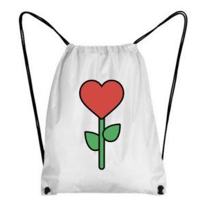 Plecak-worek Kwiat - serca