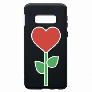 Etui na Samsung S10e Kwiat - serca