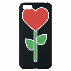 Phone case for Huawei Y5 2018 Flower - heart
