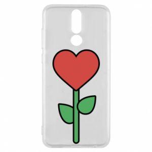 Etui na Huawei Mate 10 Lite Kwiat - serca