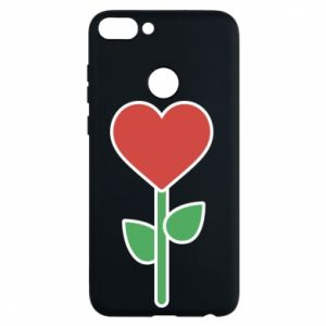 Phone case for Huawei P Smart Flower - heart