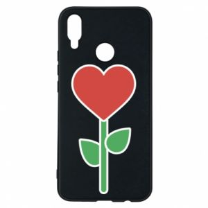 Phone case for Huawei P Smart Plus Flower - heart