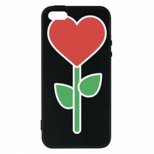 Etui na iPhone 5/5S/SE Kwiat - serca