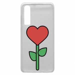 Phone case for Huawei P30 Flower - heart