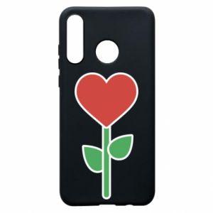 Etui na Huawei P30 Lite Kwiat - serca