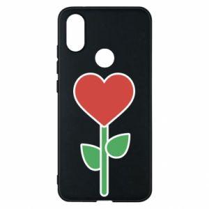 Etui na Xiaomi Mi A2 Kwiat - serca