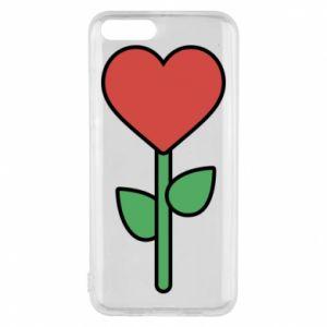 Etui na Xiaomi Mi6 Kwiat - serca